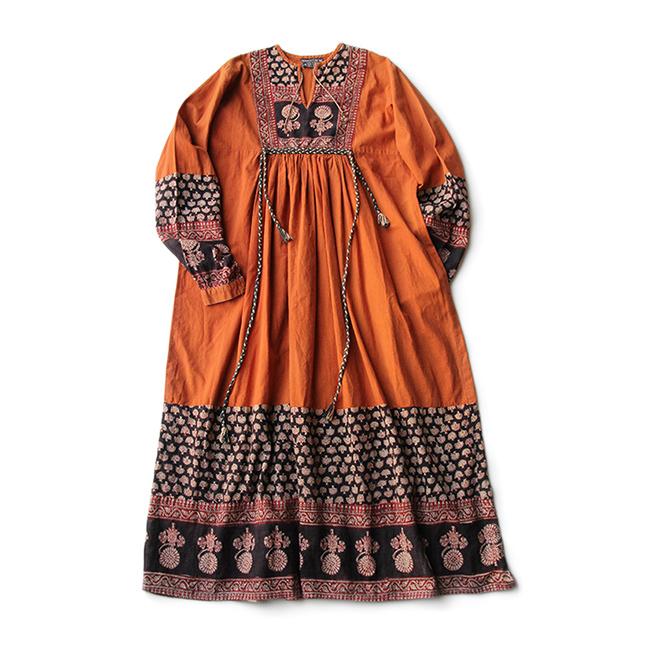 0566ab37d89ca MATIN » Blog Archive » 70s VINTAGE INDIA COTTON TUNIC DRESS ABOUT SIZE ML